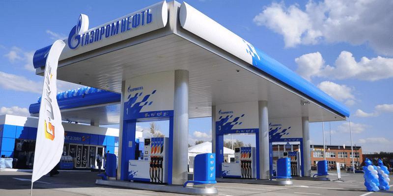 газпромнефть заправка