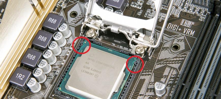 Инструкция по установке CPU