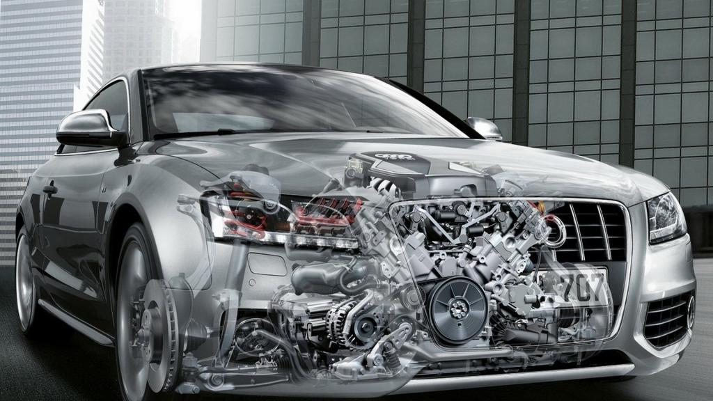 внутреннее устройство двигательной системы машины