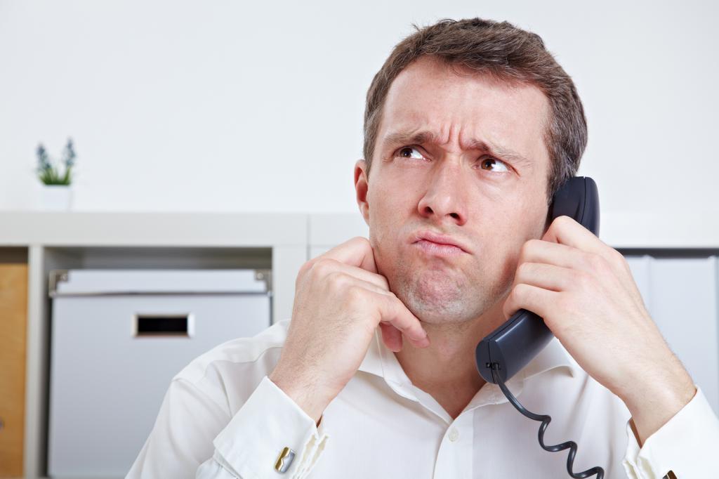 Как достать человека звонками