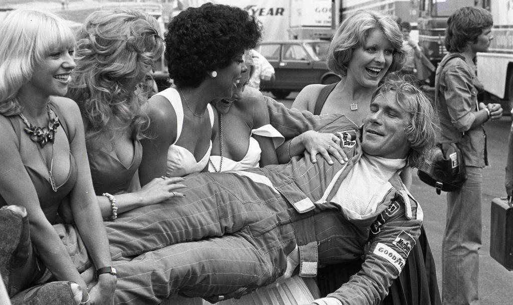 James Hunt and his fans