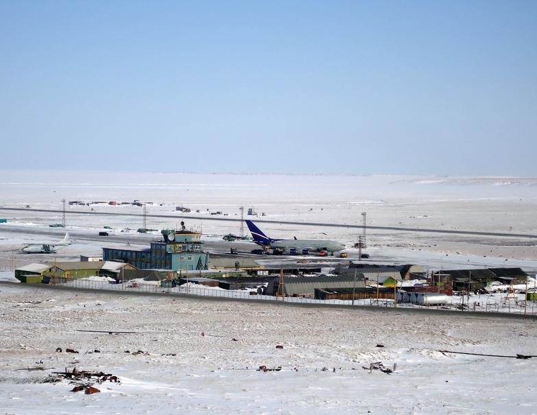 Аэропорт поселка Тикси (Якутия)