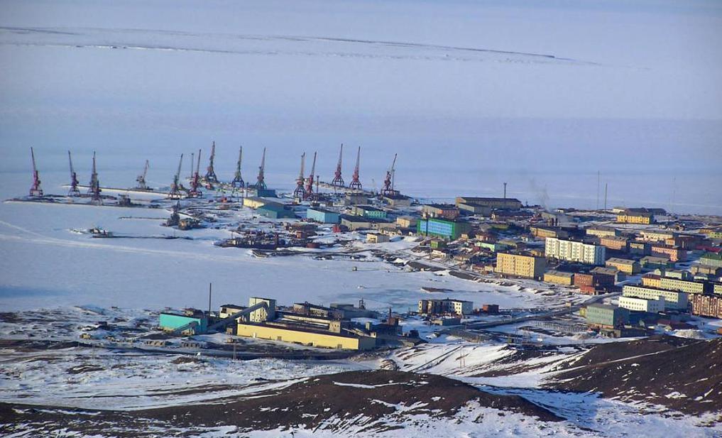 Морской порт Тикси и одноименный поселок