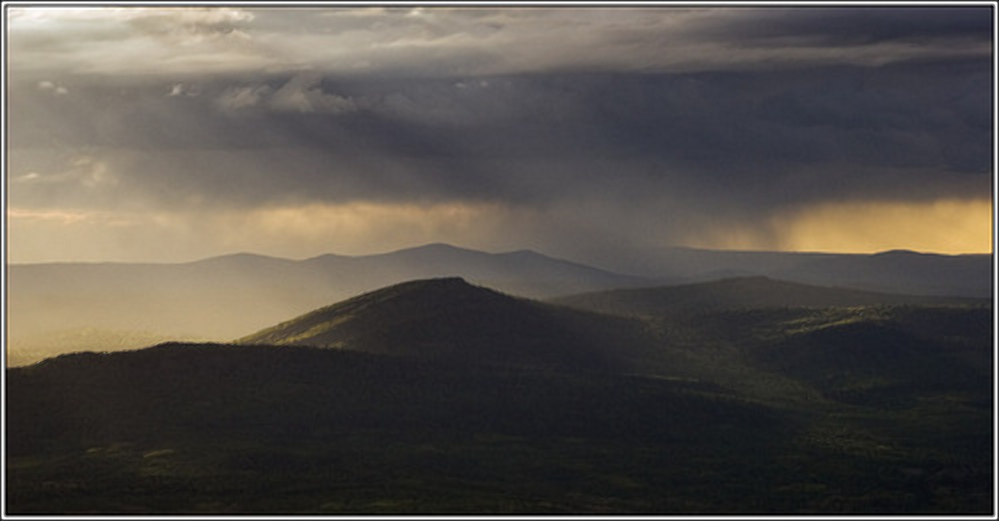 Before the rain, southern Urals