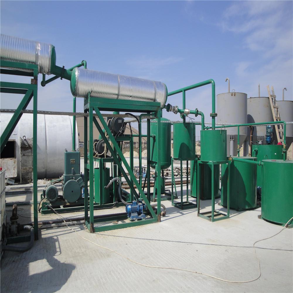 Оборудование переработки масла в дизтопливо