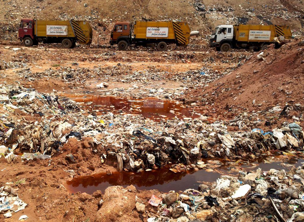 Загрязнение почвенного покрова