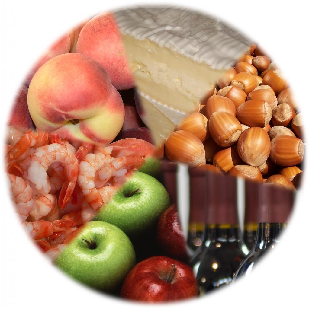Продукты, способные вызвать аллергию