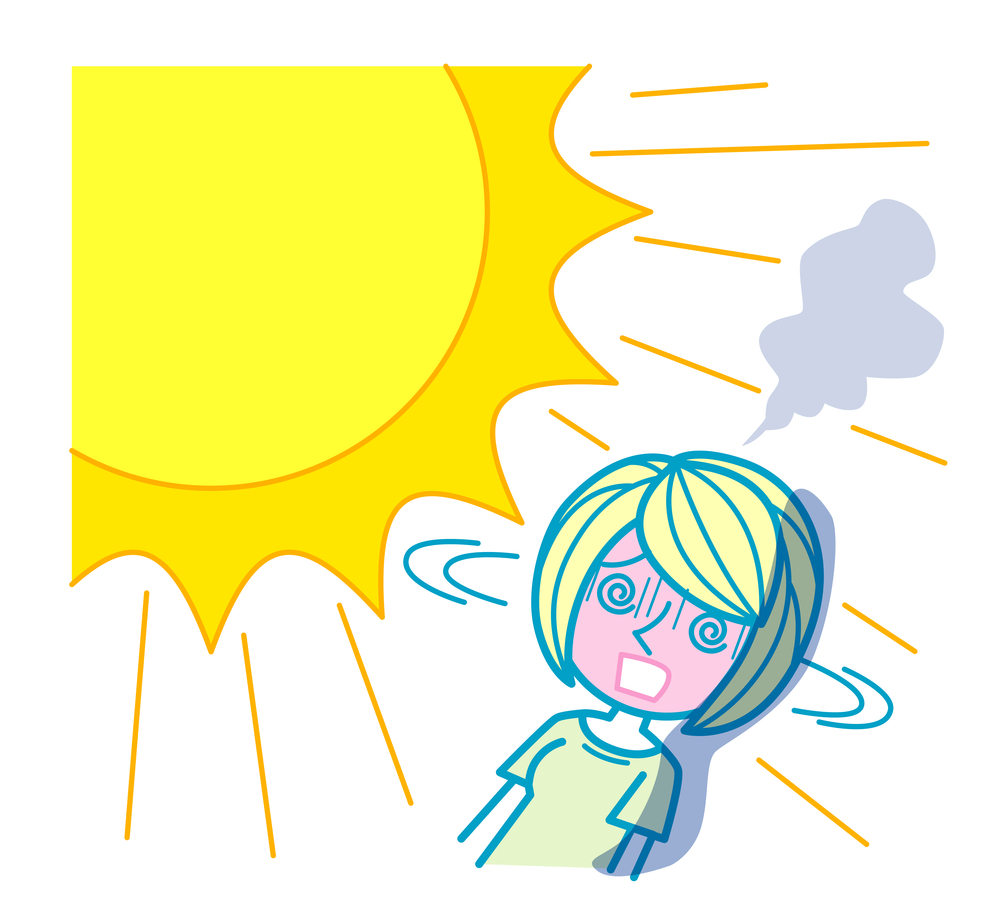 Тепловой удар картинки для презентации
