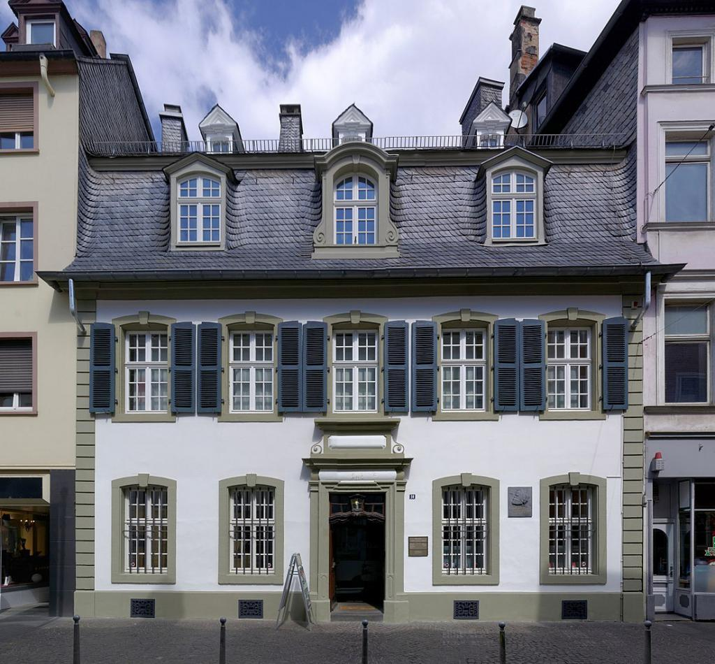 The house where Marx was born