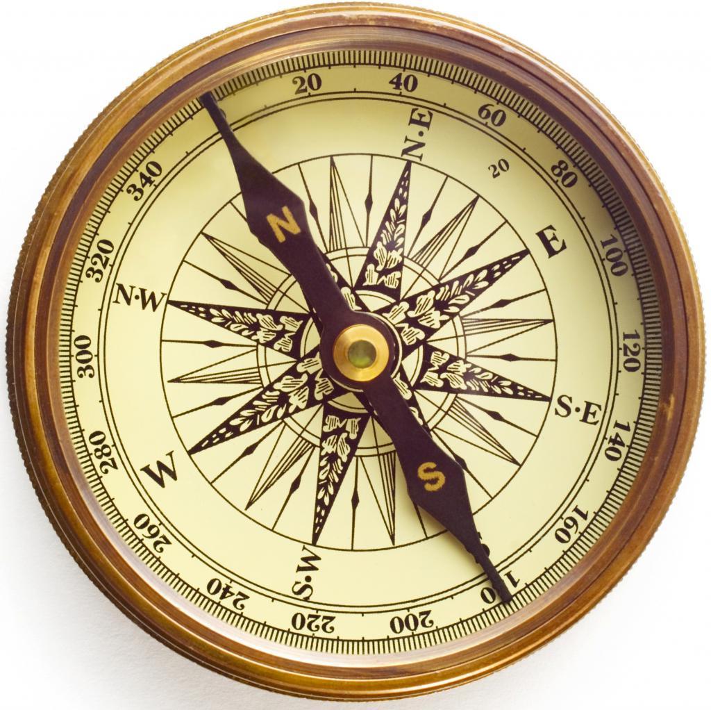 Самый популярный вид компаса