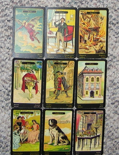 fortune telling on gypsy cards