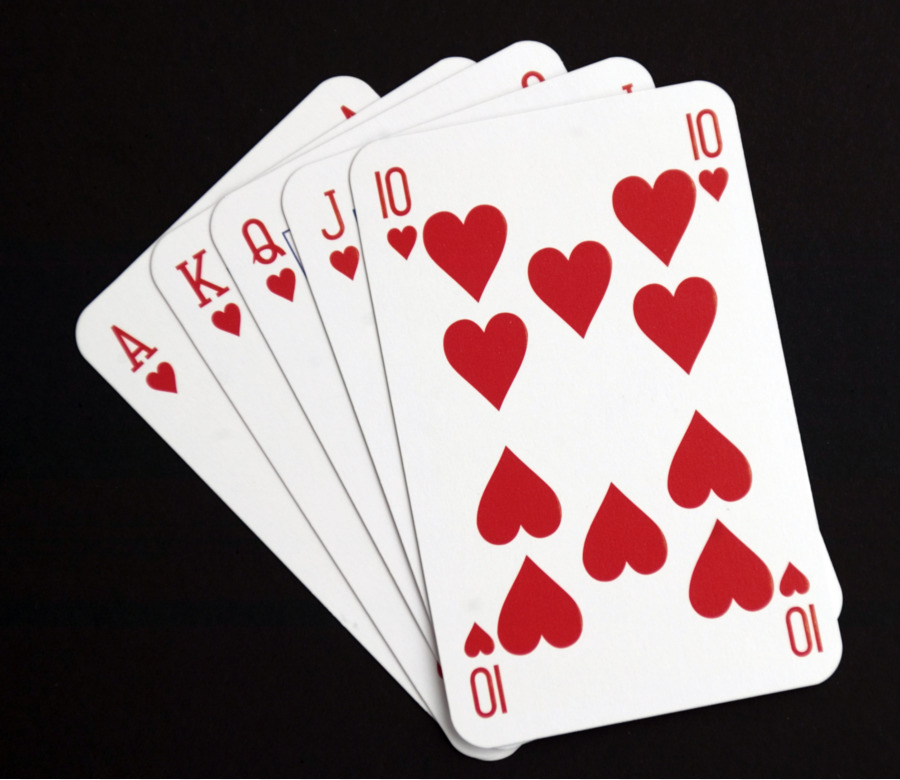 ace of hearts value card