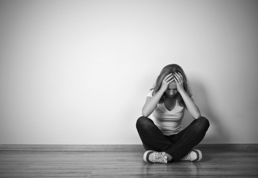 Проявление депрессии