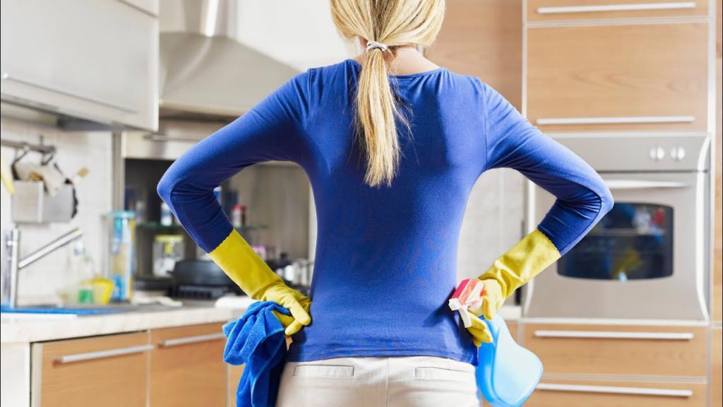 Уборка как метод лечения