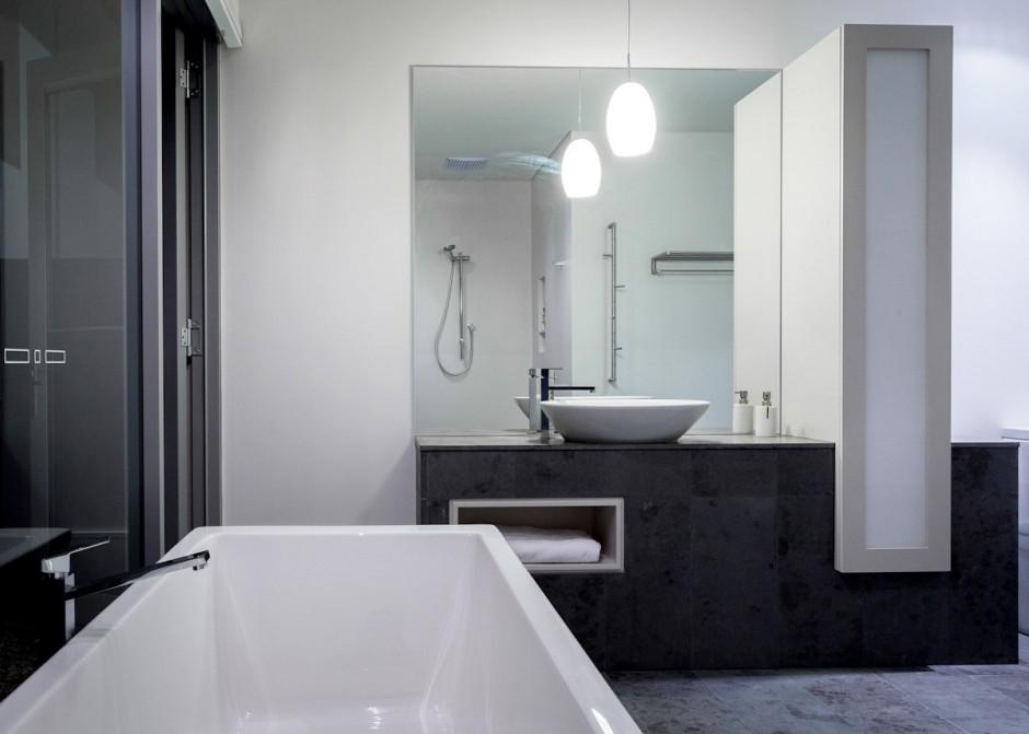 square bathroom design