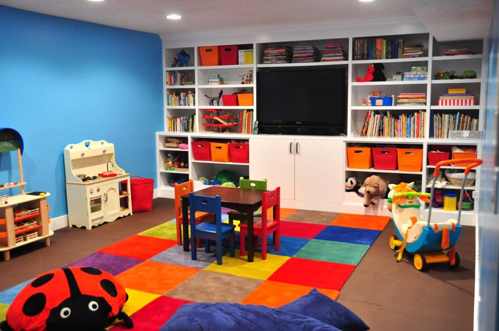 game room square design