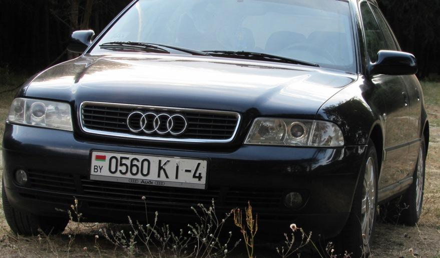 Audi A4 B5 Avant road