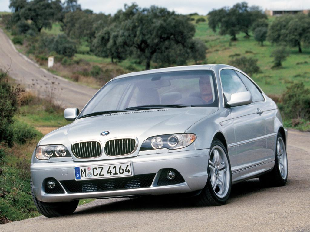 BMW E46 coupe grey