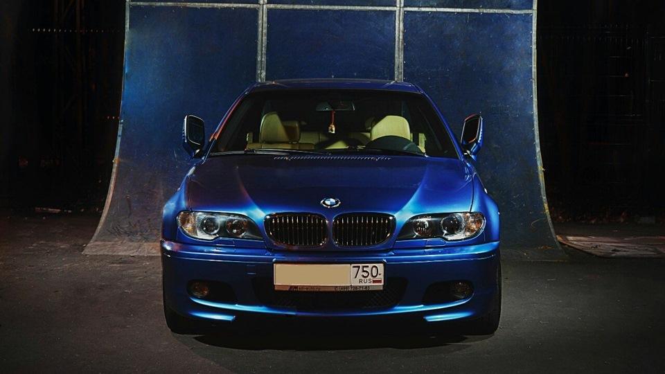 E46 restyling blue