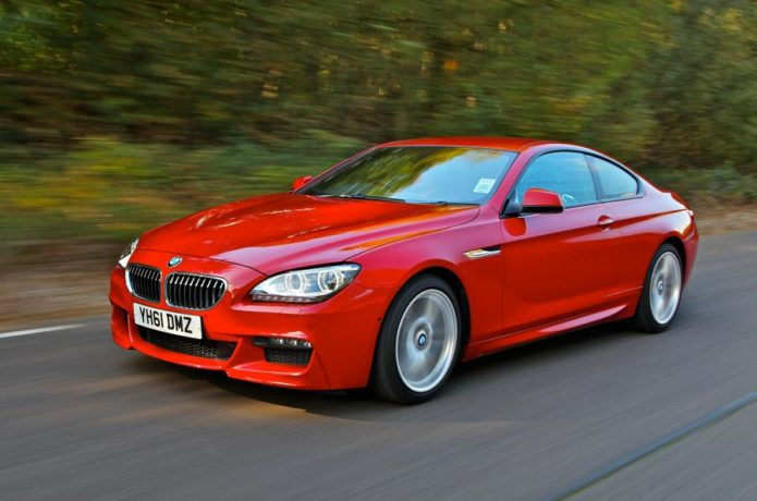 BMW 6 red