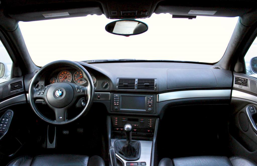E39 interior