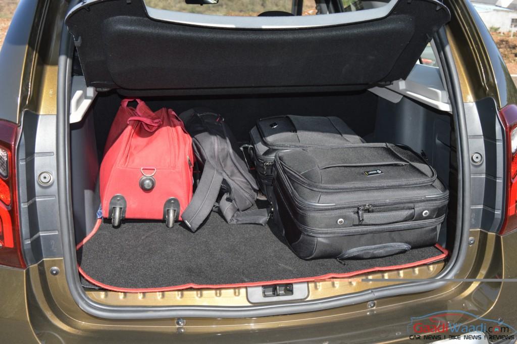 рено дастер багажник