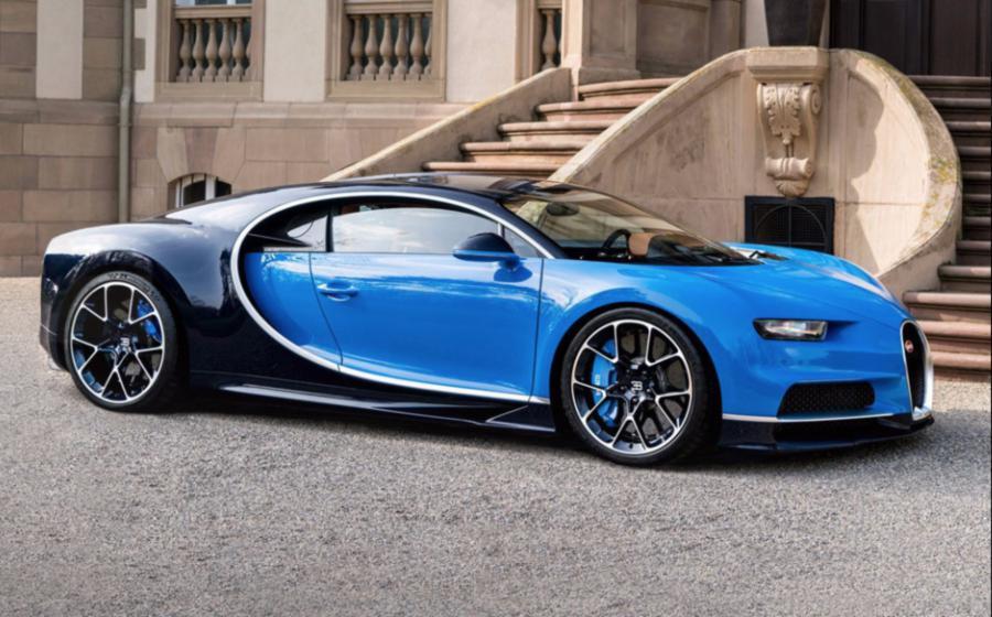 Bugatti синий
