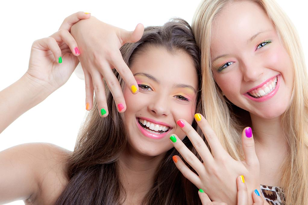 Маникюр для подростков 14 лет. Идеи школьного маникюра