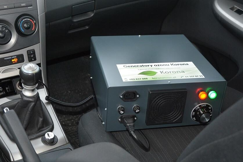 Озонатор воздуха салона автомобиля
