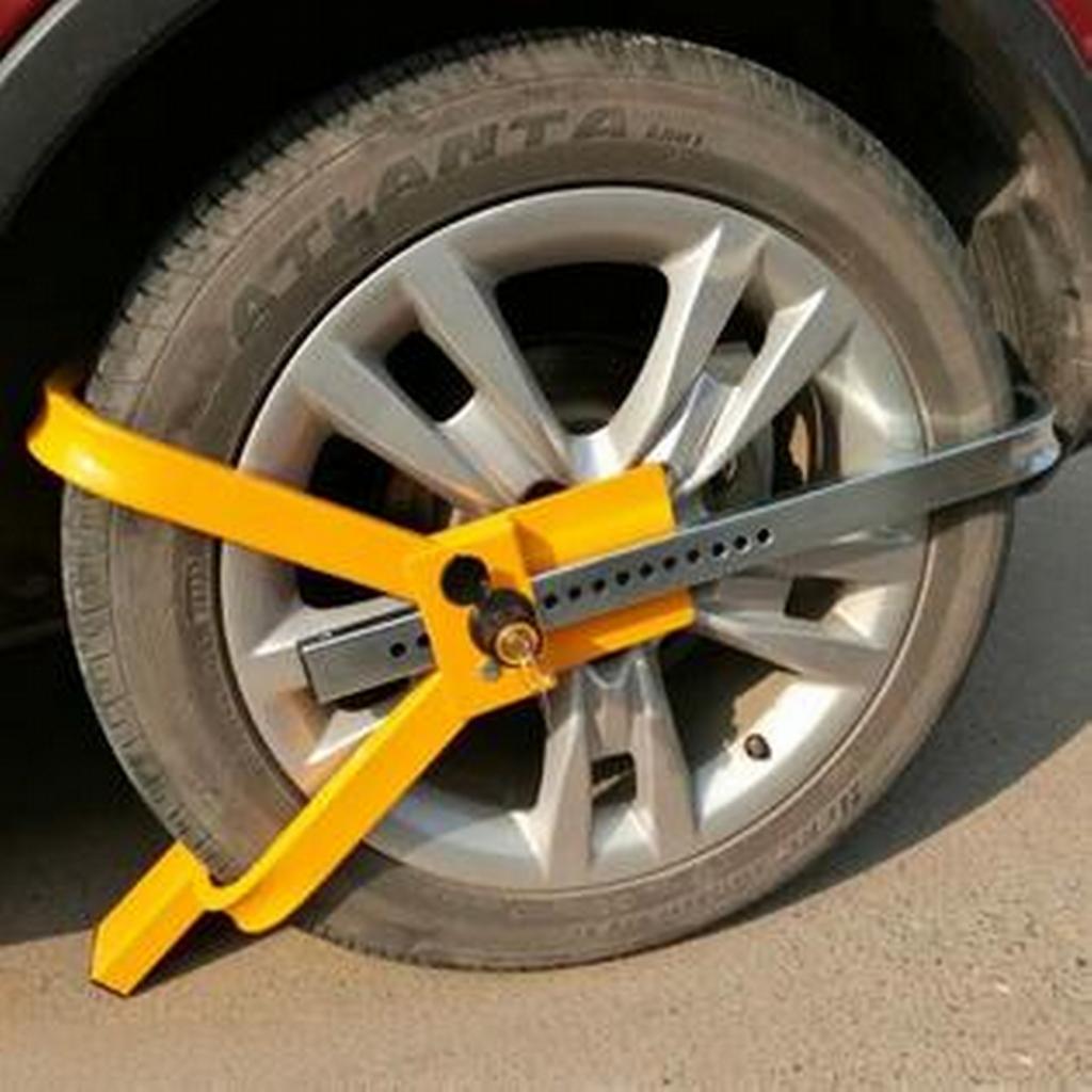 механическая защита машины от угона