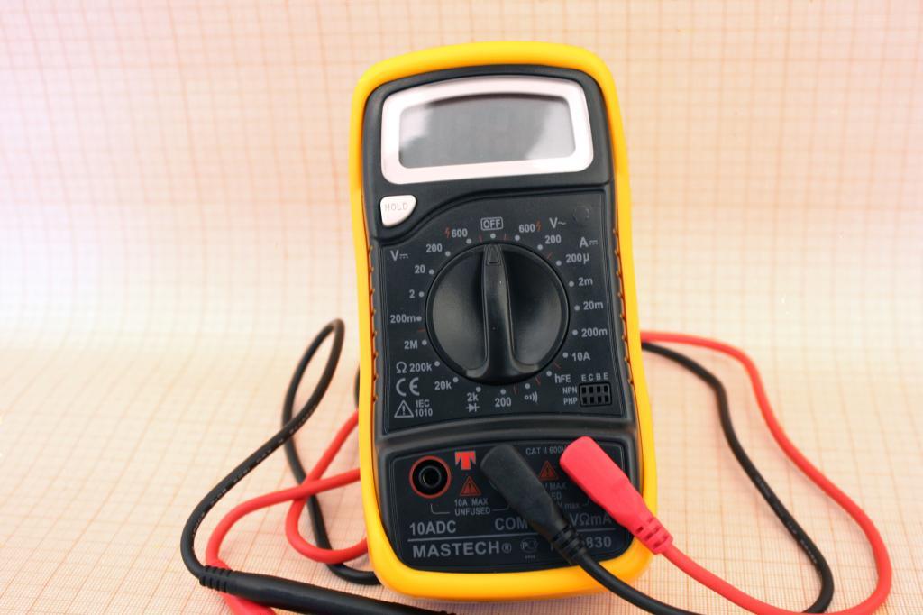 Мультиметр - прибор для проведения диагностики