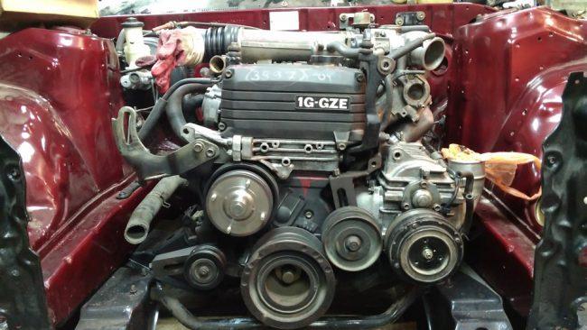 Последний двигатель из линейки 1G