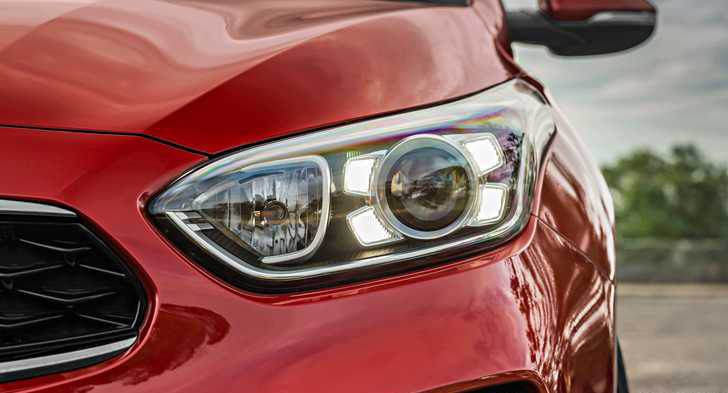 LED headlights can be mounted
