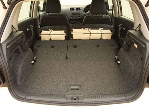 Volkswagen Polo luggage capacity in liters