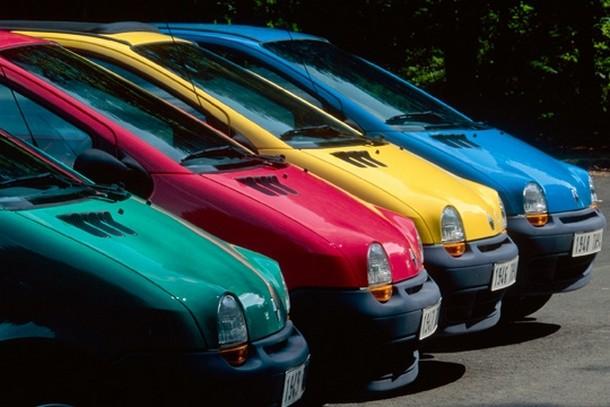 Выбираем цветовую гамму авто