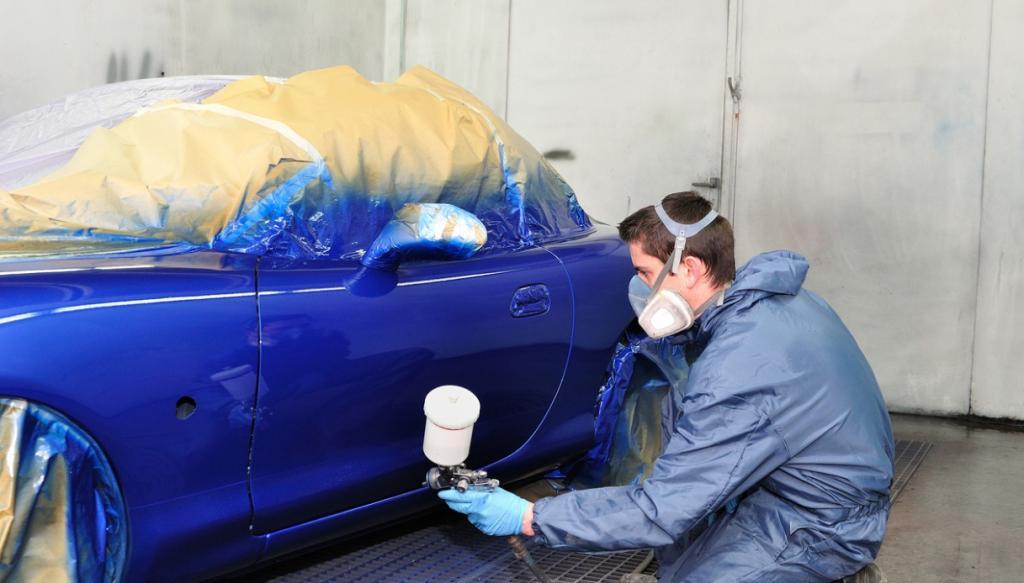 Темно синий металлик авто