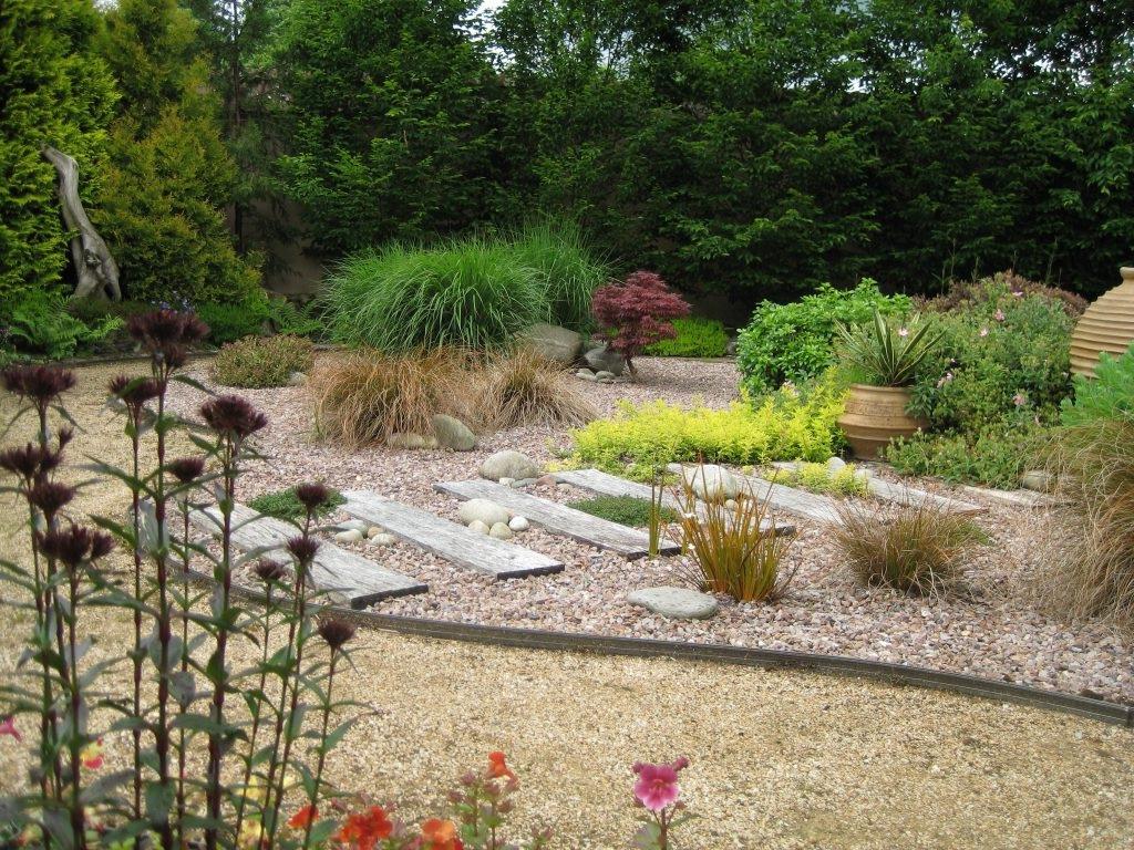 гравийный сад фото еще один