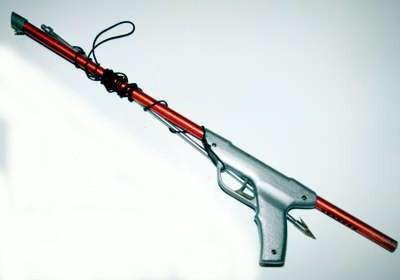 Пружинное подводное ружье