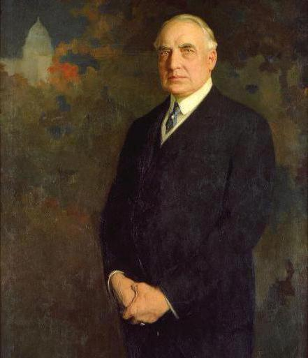 a biography of warren gamaliel harding 1 print (poster) : lithograph | political poster for warren g harding 1920 presidential election campaign shows harding in head-and-shoulders portrait, facing left.