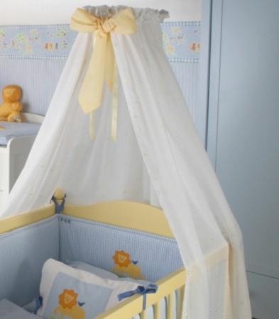 Как сшить балдахин на детскую кроватку: выбор ткани и 10