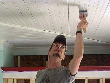 Как решить, какая краска лучше для потолка?