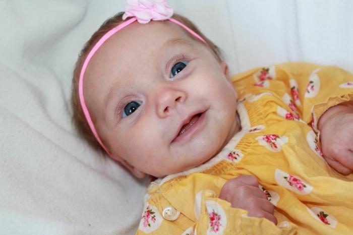 Новорожденный ребенок 2 месяца