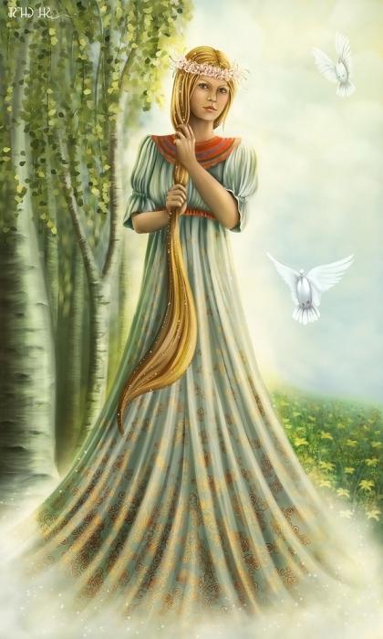 богиня красоты язычество современность