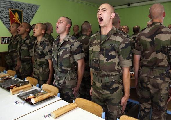 Французский иностранный легион секс