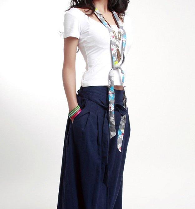 брюки юбка