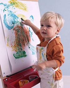 В каком возрасте ребенку можно рисовать пальчиковыми красками