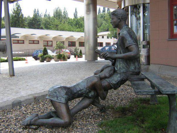 скульптура проститутке памятник