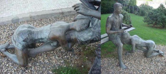 памятник проститутке в праге фото