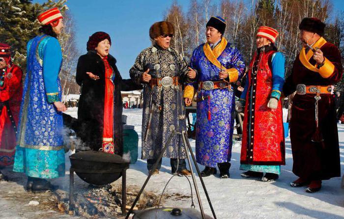 Интересные традиции бурятского народа
