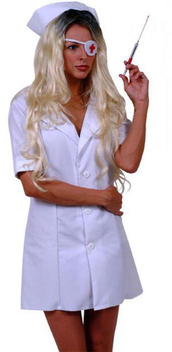 Секс образ медсестры
